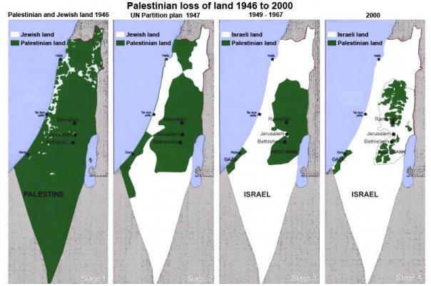 territori palestina 1946 2000