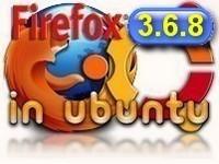 Firefox 3.6.8 installare in Ubuntu
