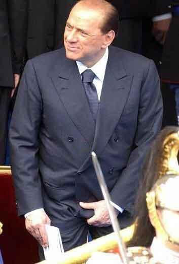 Berlusconi Cafone